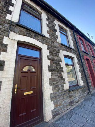 3 bed terraced house to rent in High Street, Porth, Rhondda, Cynon, Taff. CF39