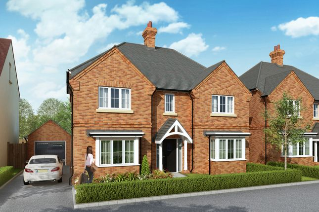 "Thumbnail Detached house for sale in ""The Warwick"" at Lower Road, Chalfont St. Peter, Gerrards Cross"