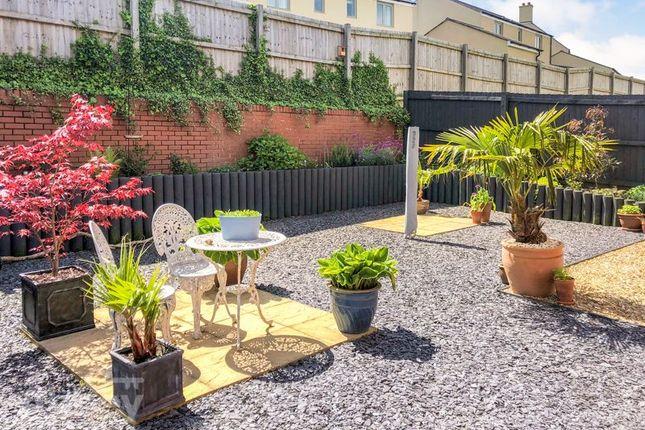 Rear Garden 3 of Lon Y Grug, Coed Darcy, Neath SA10