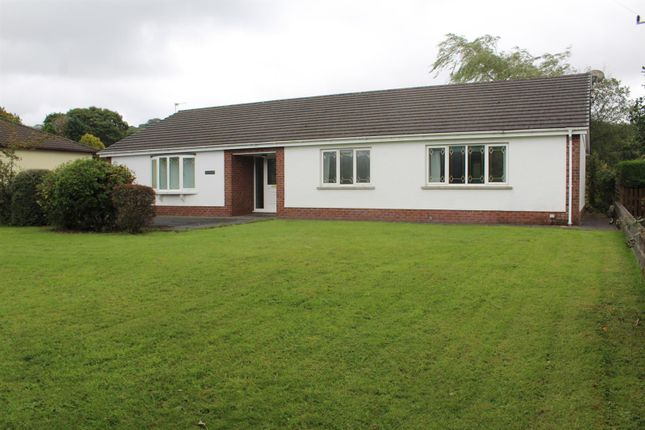 Thumbnail Detached bungalow for sale in Derwydd Road, Llandybie, Ammanford