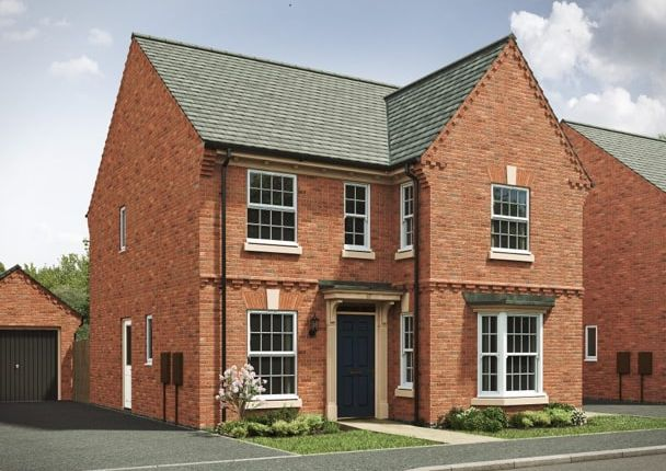 """Thumbnail Detached house for sale in """"The Bolsover"""" at Ratcliffe Road, Sileby, Loughborough"""