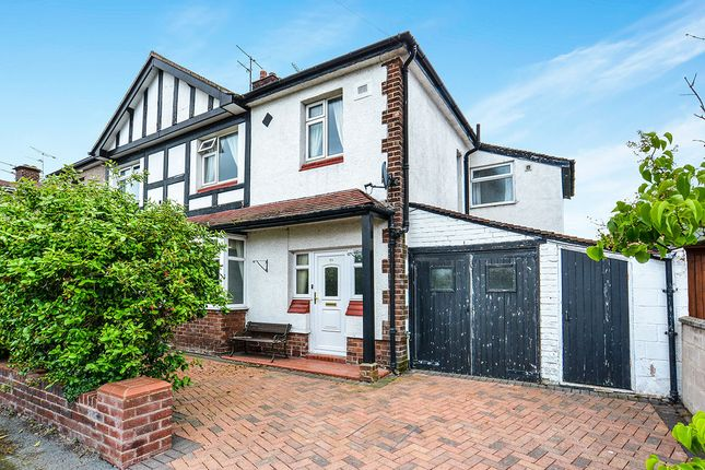 Thumbnail Semi-detached house for sale in Burlington Crescent, Rhyl