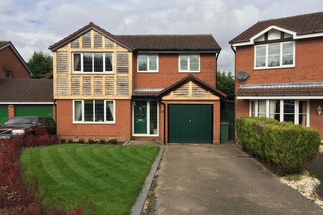 Thumbnail Detached house to rent in Jasmin Close, The Rock, Telford