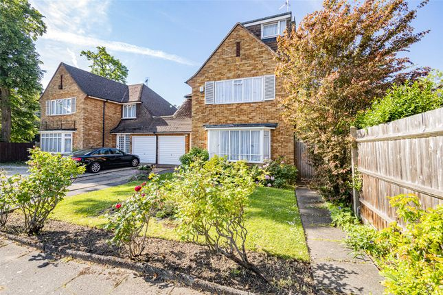 Thumbnail Link-detached house for sale in Greenhill Way, Wembley