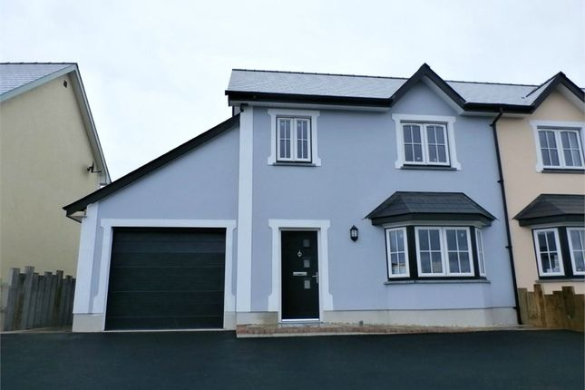 Thumbnail Semi-detached house for sale in Caerwgan, Aberbanc, Newcastle Emlyn