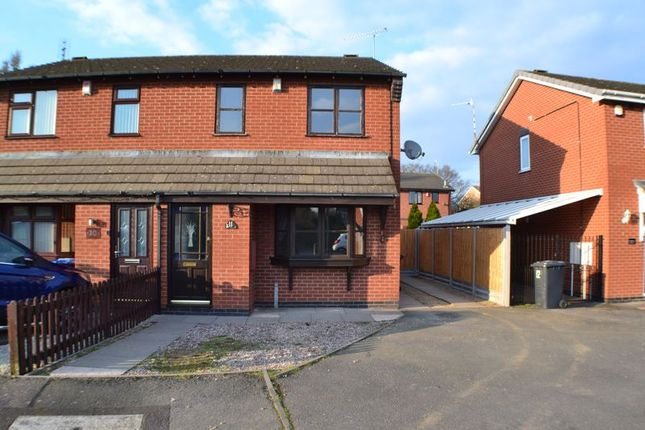 Thumbnail Semi-detached house to rent in Coldstream Close, Hinckley