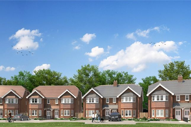 Thumbnail Semi-detached house for sale in Hollybush Mews, Harpenden, Hertfordshire