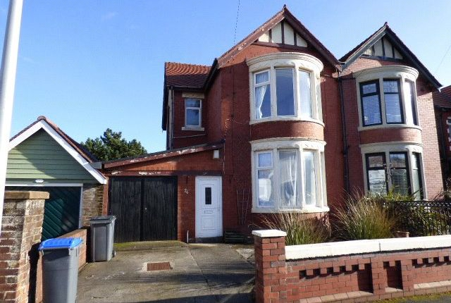 Thumbnail Semi-detached house to rent in Beaufort Avenue, Bispham, Blackpool, Lancashire