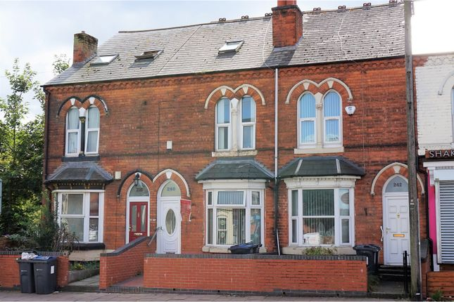 Thumbnail Terraced house for sale in Dudley Road, Birmingham