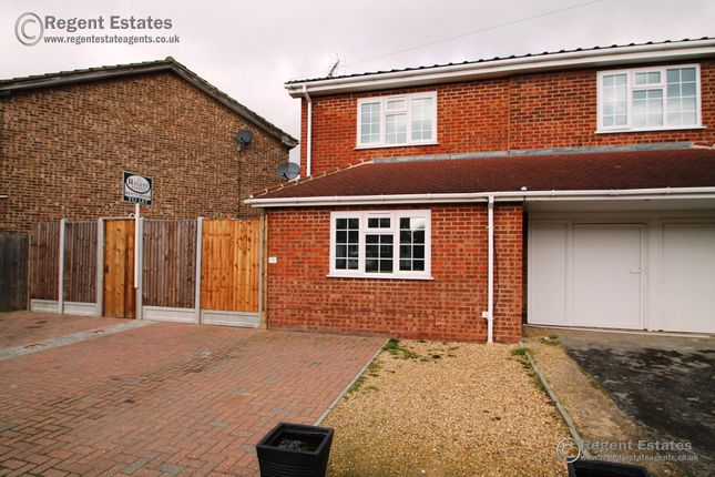 Thumbnail Terraced house to rent in St. Johns Road, Chadwell St.Mary, Grays, Essex