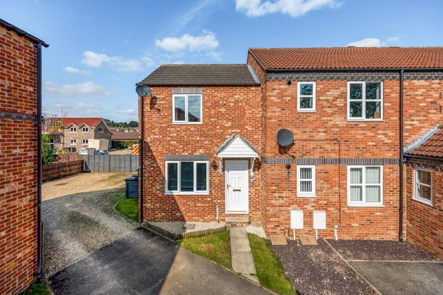Thumbnail End terrace house for sale in Ash Grove, Ripon