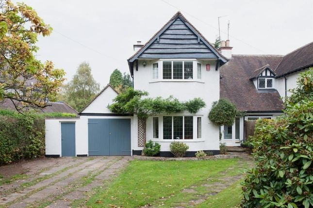 Thumbnail Semi-detached house for sale in Aldridge Road, Little Aston