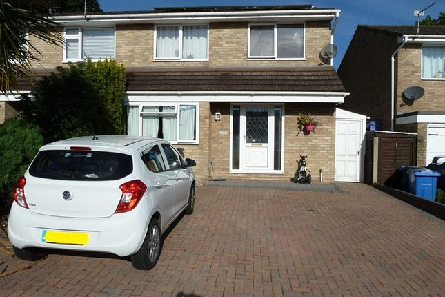 Thumbnail Semi-detached house for sale in Viscount Walk, Bearwood, Bournemouth