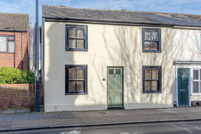 Thumbnail End terrace house for sale in Kings Road, Bury St. Edmunds