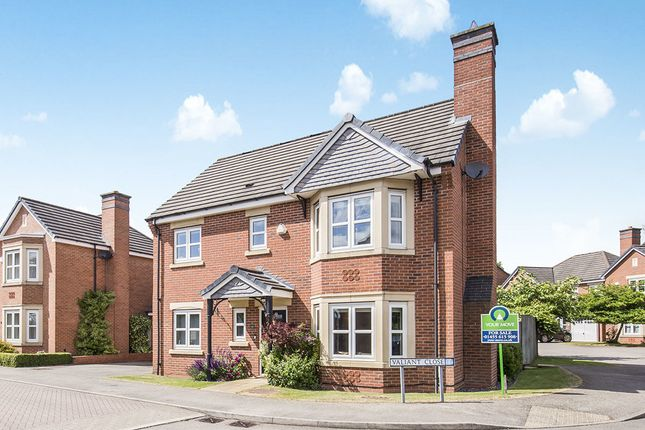 Thumbnail Detached house for sale in Valiant Close, Burbage, Hinckley