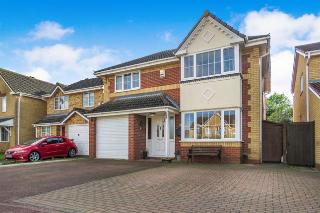 Thumbnail Detached house for sale in Coltsfoot, Biggleswade