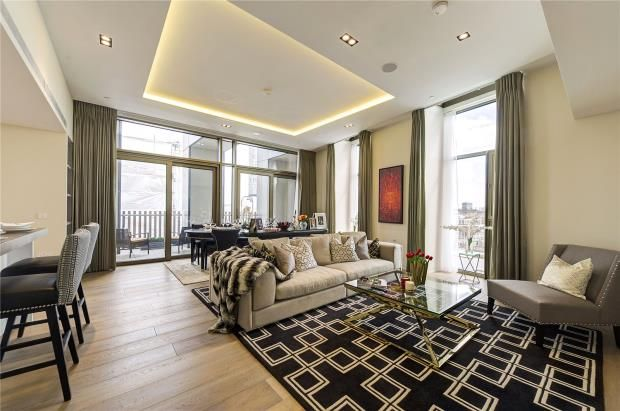 3 bed flat for sale in Pearson Square, Fitzroy Place