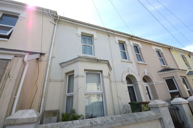 Thumbnail Terraced house to rent in Cattedown Road, Plymouth