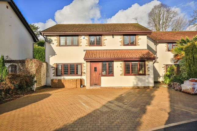 Thumbnail Detached house for sale in Longleat Close, Lisvane, Cardiff