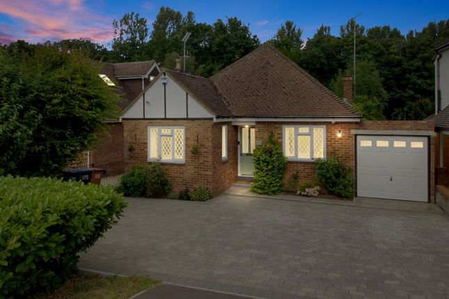 Thumbnail Detached bungalow for sale in Tolmers Road, Cuffley, Potters Bar
