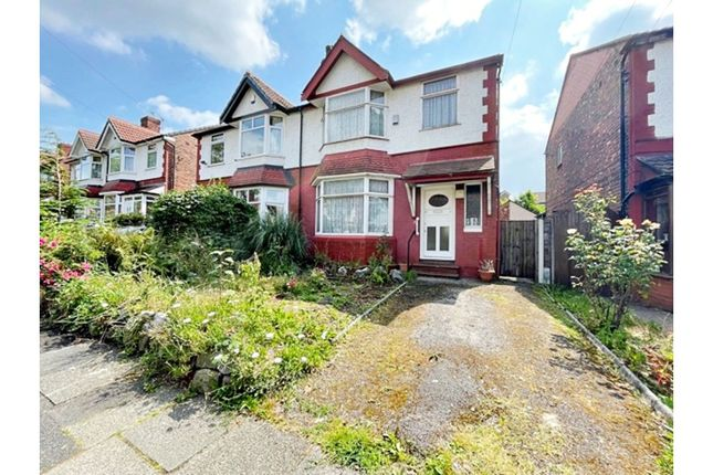 Thumbnail Semi-detached house for sale in Kearsley Road, Manchester