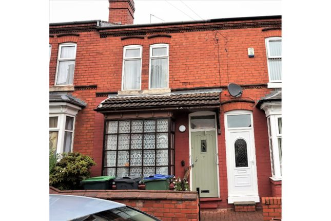 Thumbnail Terraced house for sale in Piddock Road, Smethwick