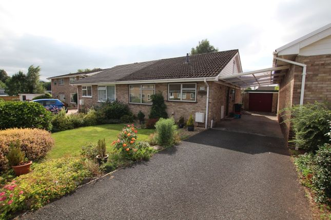 Thumbnail Semi-detached bungalow for sale in Pendre Gardens, Brecon