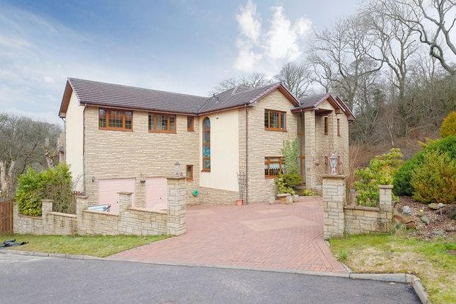 Thumbnail Detached house for sale in Glen Noble, Cleland, Motherwell, North Lanarkshire