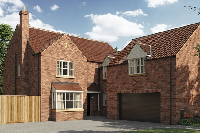 Thumbnail Detached house for sale in Off Beverley Road, Kirk Ella
