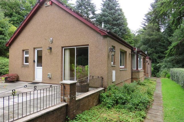 Thumbnail Detached bungalow for sale in Trossachs Road, Aberfoyle, Stirling