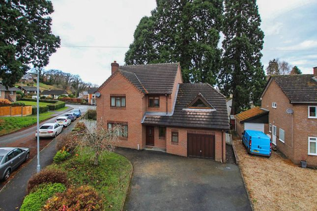 Thumbnail Detached house to rent in Cae Castell, Builth Wells