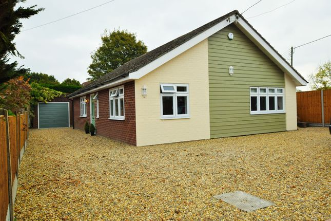 Thumbnail Detached bungalow for sale in Wood Lane, Colchester