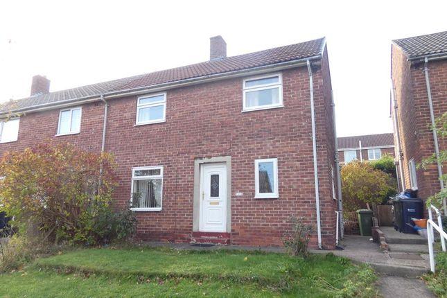 Thumbnail Semi-detached house to rent in Knightside Gardens, Dunston, Gateshead