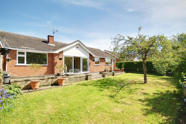 Thumbnail Detached bungalow for sale in Parker Close, Arnold, Nottingham