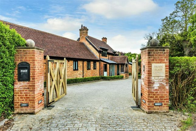 Thumbnail Detached house for sale in Bagshot Road, Chobham, Woking