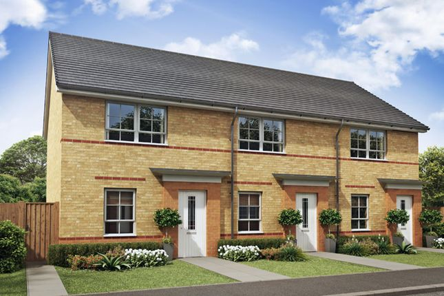 "Thumbnail End terrace house for sale in ""Kenley"" at Tenth Avenue, Morpeth"
