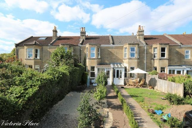 Thumbnail Terraced house to rent in Victoria Place, Combe Down, Bath