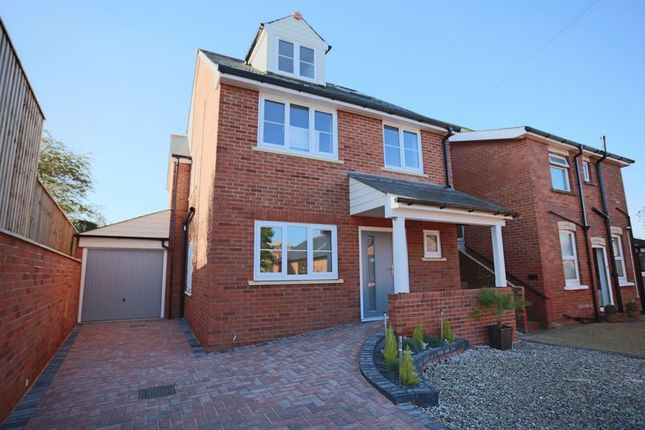 Thumbnail Detached house for sale in Estuary, Littlemead Lane, Exmouth