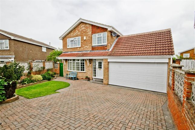 Thumbnail Detached house for sale in Woodbrook Close, New Marske, Redcar