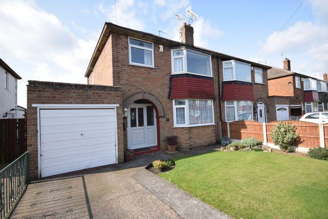Thumbnail Semi-detached house for sale in Ridgewood Avenue, Edenthorpe, Doncaster