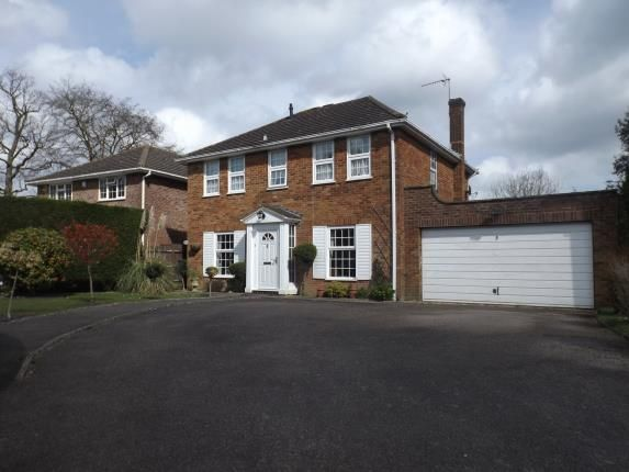 Thumbnail Detached house for sale in Hophurst Close, Crawley Down, West Sussex