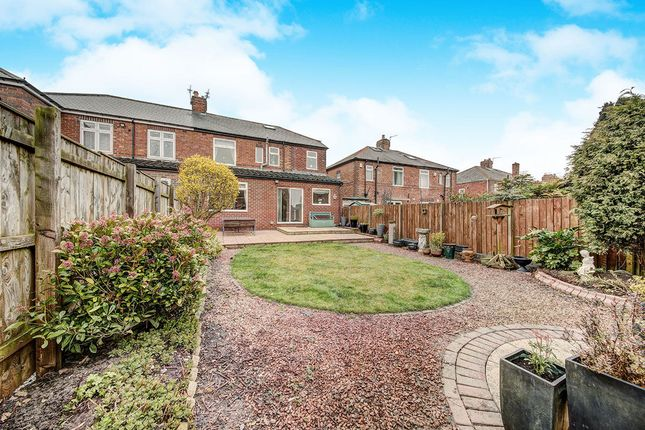 Thumbnail Semi-detached house for sale in Station Road, Wallsend