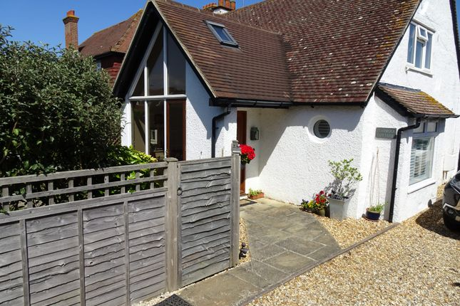 Thumbnail Detached house for sale in Beach Gardens, Selsey, Chichester