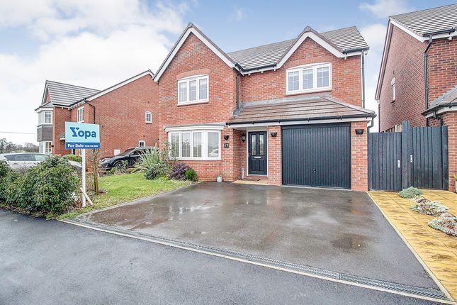 Thumbnail Detached house for sale in Weaver Brook Way, Wrenbury, Nantwich