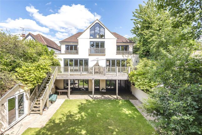 Thumbnail Detached house for sale in Woodwaye, Oxhey Hall, Hertfordshire