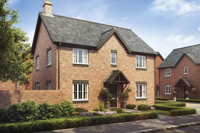 Thumbnail Detached house for sale in Plot 15 The Cedar, Barley Fields, Uttoxeter