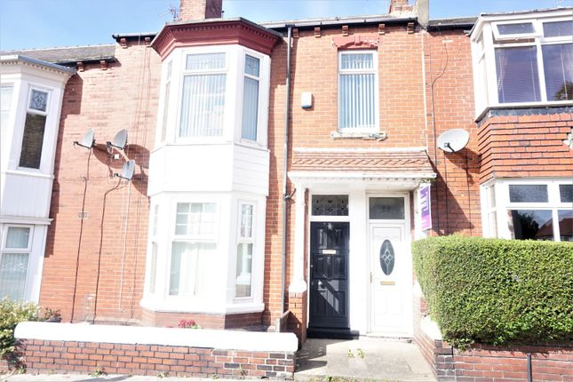 Thumbnail 3 bed flat for sale in Birchington Avenue, South Shields