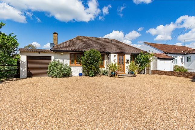 Thumbnail Detached bungalow for sale in Coppice Drive, Wraysbury, Berkshire