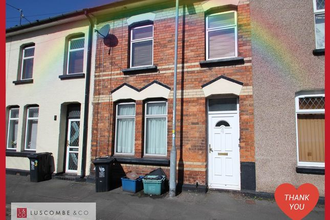 Thumbnail Terraced house to rent in Usk Street, Newport