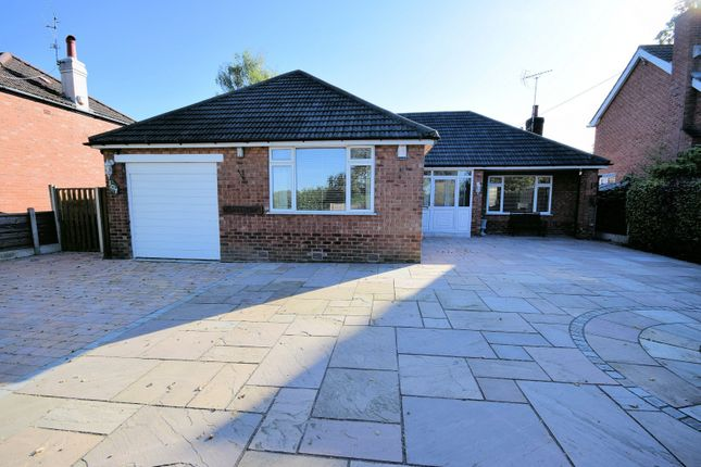 Thumbnail Detached bungalow for sale in Chester Road, Poynton, Stockport